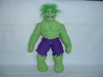 THE INCREDIBLE HULK Cuddly Soft Plush Toy (MARVEL/AVENGERS/MOVIE/FILM/COMIC)
