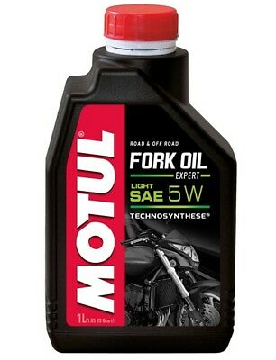 Motul Fork Oil Gabelöl Expert Light 5W Dämpfungsöl Enduro Chopper Supermoto