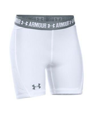 (Youth X-Large, White) - Under Armour Girls' Softball Slider. Unbranded
