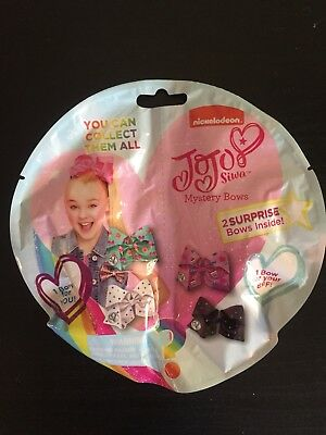JoJo Siwa Mystery Bows Blind Bag 2 Surprise Bows Inside