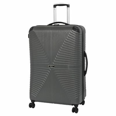 It Luggage Intersection 8 Silent Glide Wheel Large Suitcase 120L – Grey