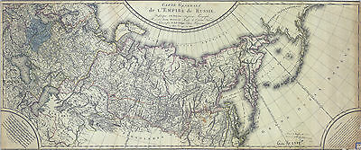 1807 Map of the Russian Empire
