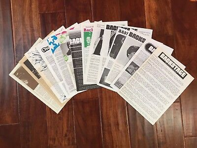 BACKSTAGE-The Official Osmond Newsletter- Lot of 14 - 70s & 80s - Donny & Marie