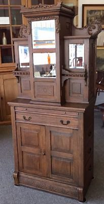 Antique Dental Cabinet - Quarter Sawn Oak - Late 1800's