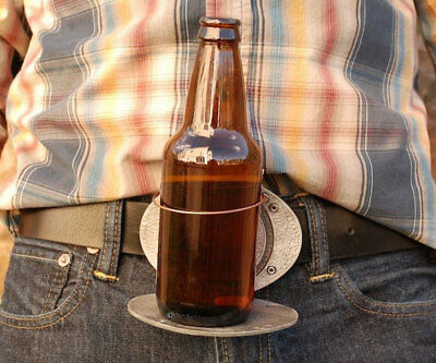 The Beer Buckle Holds A Bottle Best For Christmas