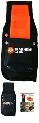 Trailhead Gear Black Durable Tree Felling Bucking Wedge Belt Pouch Holdster Kit