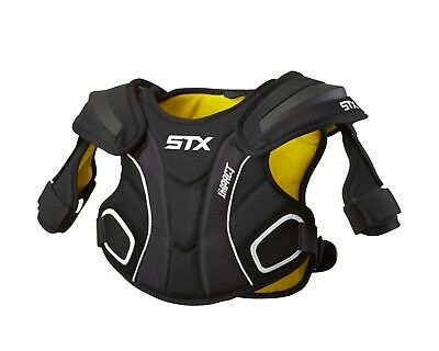 STX Lacrosse Impact Shoulder Pad, Black, Medium. Unbranded. Free Shipping