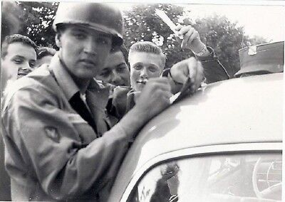 Elvis Presley  In Deutschland    Privatfoto