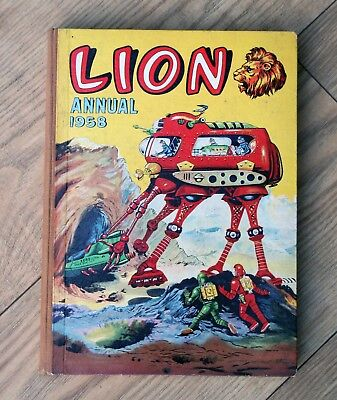 Lion Annual 1958 - Captain Condor by Frank Pepper, Rex King, Guy Deakin and more