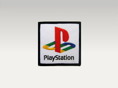 Toppa Patch Sony Play Station  Ricamata Termoadesiva