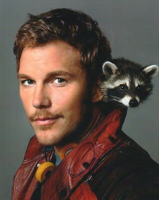 Chris Pratt - Guardians of the Galaxy -  Original Autogramm