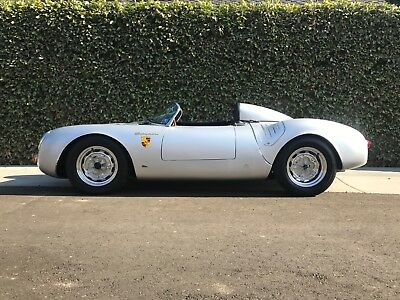 1955 Porsche Other silver 1955 Porsche 550 Spyder, early Chuck Beck Spyder #69