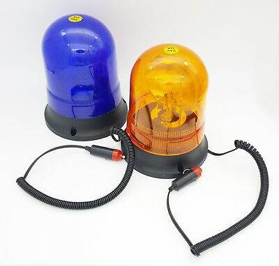 Revolving Amber Recovery 12V Breakdown Magnetic Light Beacon Warning Rotating