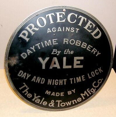 Yale Time Lock Sign Bank Vault Safe