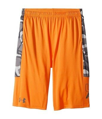 (Small, Radiate/White) - Under Armour Boys' Instinct Printed Shorts. Unbranded