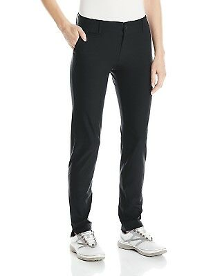 (12, Black/True Gray Heather) - Under Armour Women's Links Pants. Free Shipping