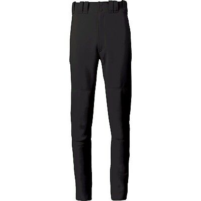 (Small, Black) - Mizuno Youth Select Long Pant. Free Delivery