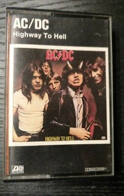 AC DC Highway To Hell Tape MC 1979