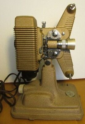 Vintage Revere Model 85 8MM Projector Work Tested