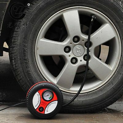 Mini Portable Electric Air Compressor Pump Car Tire Inflator 12V 260PSI FP9BLBD