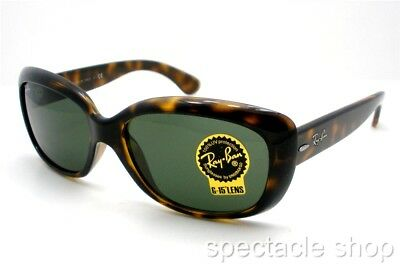 dec6878adde RAY BAN 4101 Jackie Ohh 710 Havana G15 58mm New Authentic Sunglasses ...
