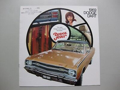 Dodge Dart prestige brochure Prospekt English language 1969