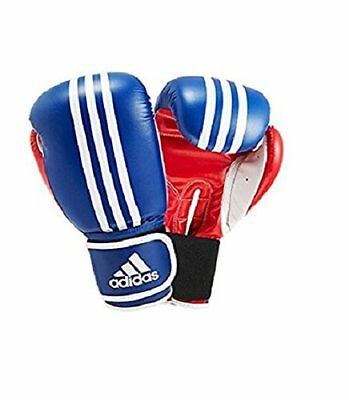 Adidas Mens Response Boxing Gloves - Blue/Red/White, 10 oz