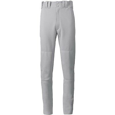 (Medium, Grey) - Mizuno Youth Select Long Pant. Shipping is Free
