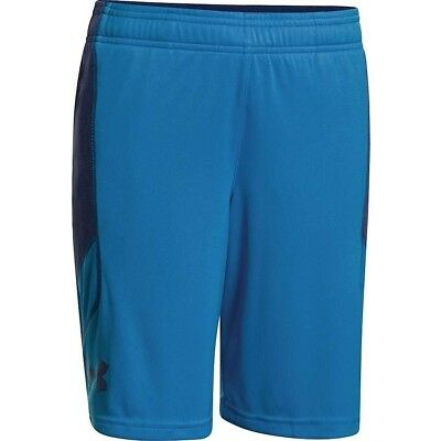 (Small, Pool / American Blue) - Under Armour Boys' Tech Novelty Short. Unbranded