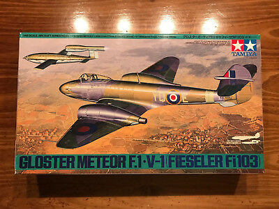 Tamiya Gloster Meteor F.1 with Fielser V-1 FI103 61065 1:48