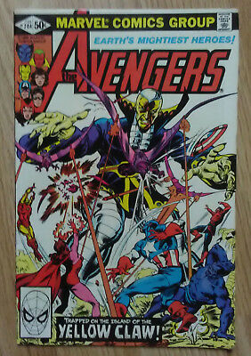Avengers Vol 1 #204 (1981) Yellowclaw Jocasta Shooter VF+ Combined P&P Available