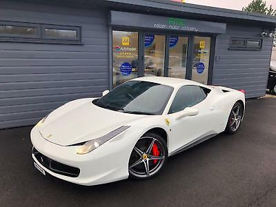 2013 Ferrari 458 4.5 ( 570ps ) Auto Seq Italia **White - £££ OF EXTRAS**