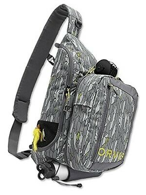(Green/Brown) - Orvis Safe Passage Guide Sling Pack / Only Safe Passage Guide