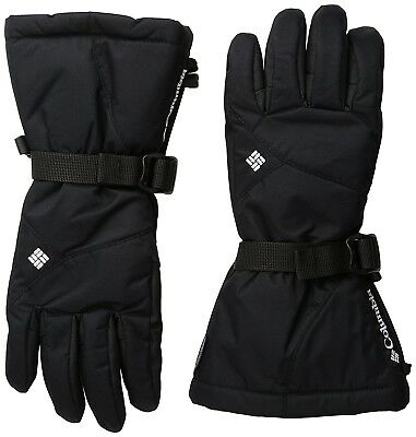 (X-Large, Black) - Columbia Women's Whirli Bird Performance Gloves