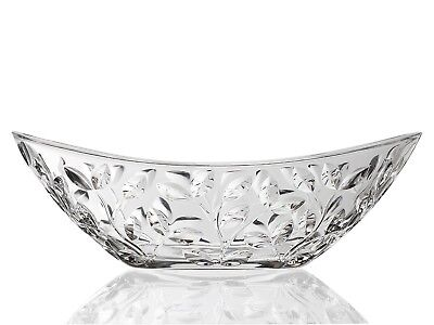RCR Laurus Oval Centrepiece, Crystal. Opera. Delivery is Free