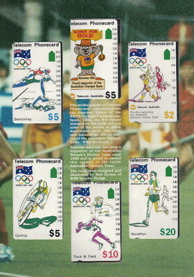phonecards Barcelona Olympics pack