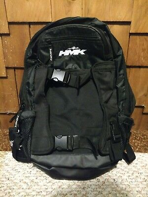HMK Backcountry 2 Backpack Black Bag Heavy Duty Pack