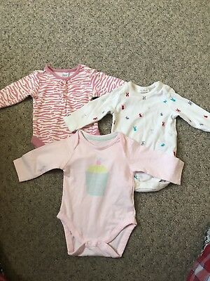Long Sleeved Baby Vests