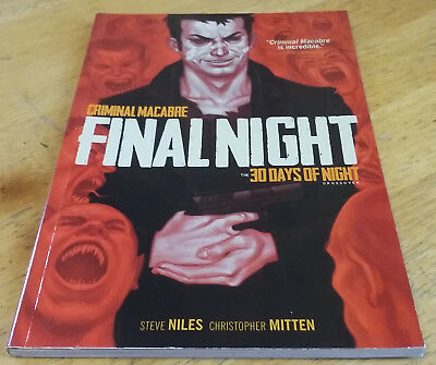 Criminal Macabre / 30 Days of Night crossover - Final Night TPB