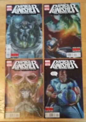 Space: Punisher (complete set #1-4)