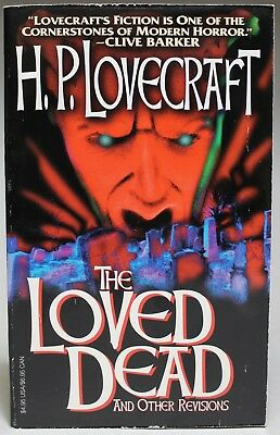 H. P. LOVECRAFT: 2 paperback books - The Loved Dead & Shadows of Death