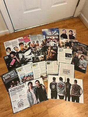All Time Low AP Magazine Article Lot