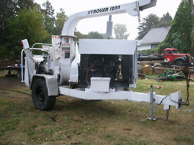 2006 WOODCHUCK 986 Hours HY-ROLLER 1200 WOOD CHIPPER FORESTRY ARBORIST