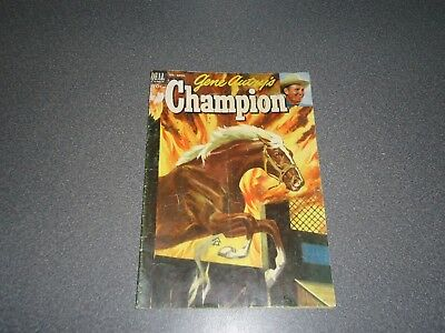 Dell Comic Book Western Gene Autry's Champion Feb-April # 9 1953 10-Cent