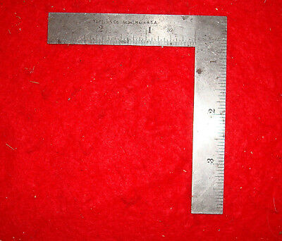Vintage L.S. Starrett No.21 Machinist Thin Try Square
