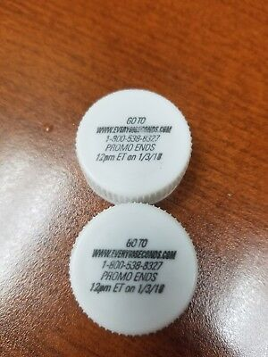 2- Every 60 seconds Mountain Dew caps with unused codes