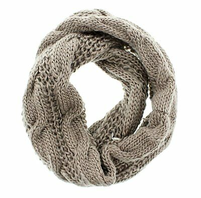 Zac's Alter Ego® Warm Cable Knit Womens Loop Scarf / Snood / Cowl