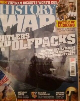 History of War magazines. Issues 48 and 49