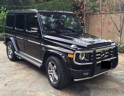 2011 Mercedes-Benz G-Class  2011 MB G55 V8 AMG black on black with with 65K miles for $65K or best offer