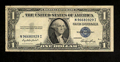 1935 E $1 Silver Certificate with Blue Seal